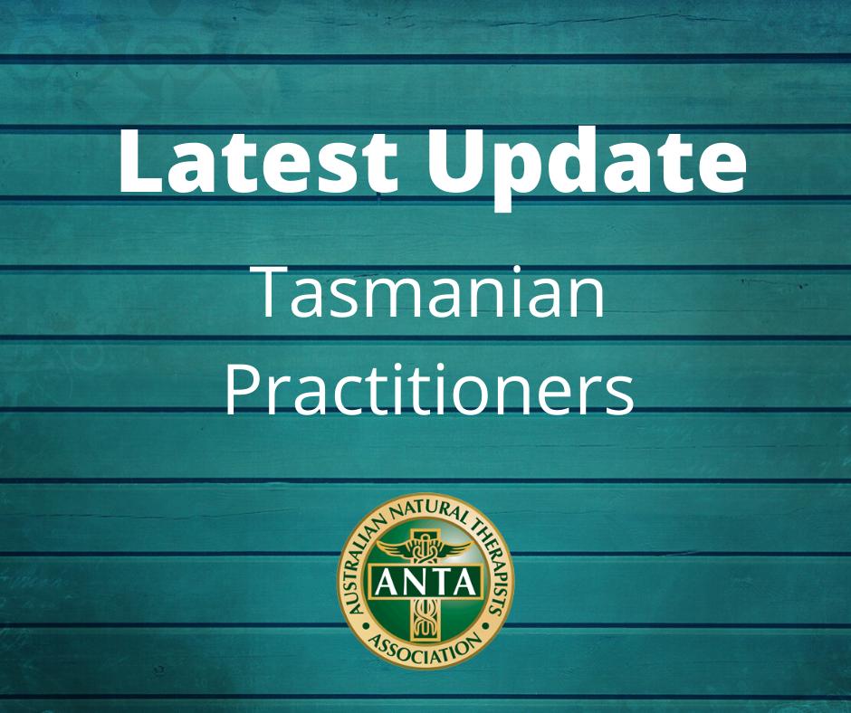 Tasmanian Practitioners Update - MY
